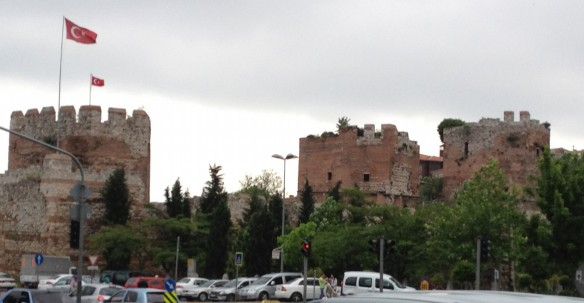 City Walls by the Golden Horn