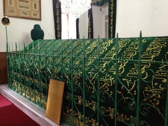 The grave of Abu Shayba al-Khudri